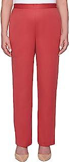 Alfred Dunner 女式小号全背弹性中长长裤