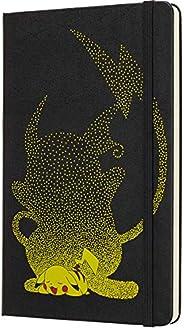 "Moleskine 限量版神奇宝贝笔记本,精装书皮,大号,5"" x 8.25""(约12.7厘米 x 20.96厘米),直纹纸/ 衬里纸,240页"