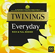 Twinings Everyday 100 Tea Bags (Pack of 4)