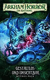 Fantasy Flight Games FFGD1105 Arkham 恐怖:LCG - 无形且隐形 Mythos - 包 (unwich-4) DEUTSCH