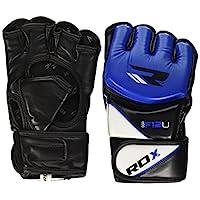 RDX Sparring手套-X Ggr-F12 Mma 手套,蓝色,L
