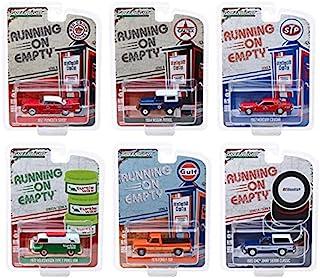 Greenlight 41090 Running on Empty 系列 9 完整套装 六 (6) 压铸模型 1:64 比例