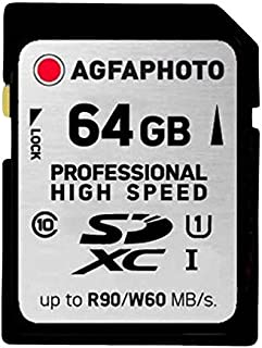 AgfaPhoto 10505 Class 10 64 GB 专业高速 SDXC 卡