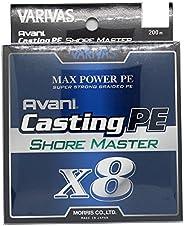 VARIVAS PE线 Avani Casting PE Max Power X8 Shore Master 200米 8根 白色
