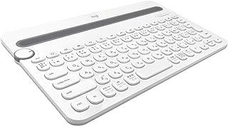 LOGICOOL Bluetooth mutil-device 键盘 白色