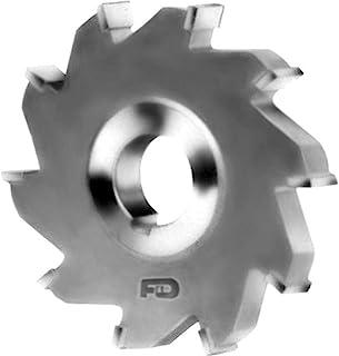 F&D Tool Company 15089C-SC4106 硬质合金尖头切削锯,粗齿,钢,直径 4 英寸,宽 5/16 英寸,孔径 1 英寸,8 个齿数