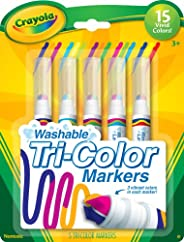 crayola 5 count 可洗 triple tip markers by crayola