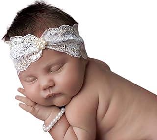 Jasmine 象牙白金珍珠头带