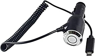 Shot Case 12299 汽车充电线,适用于三星 Galaxy S7 智能手机 Android Micro USB ,通用,黑色