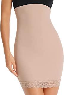 半滑适合下装高腰半滑塑身内衣女士收腹塑身衣无缝裙滑裙