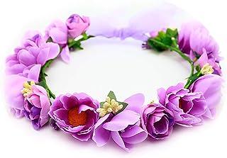 THEFANTASY 花冠 花冠 紫色 头饰 发饰 胸花 婚纱 礼服 花冠 fhkan001pe fhkan001pe fhkan001pe fhkan001pe