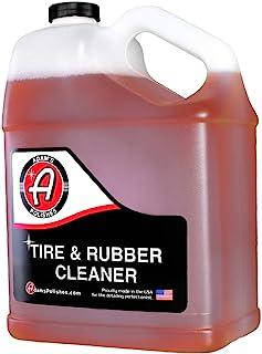 Adam's 轮胎和橡胶清洁剂 - 快速清除轮胎上的变色 - 适用于轮胎、橡胶和塑料装饰以及橡胶脚垫 1 加仑 TRC