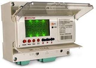 Circutor MKD-ITF-C2 电子计数器 带活性和反应能量 直接连接 DIN 导轨 4 个正方形M33000