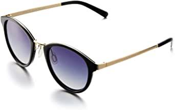 AHT 偏光太阳镜女式时尚遮阳光线 * UV 太阳眼镜 猫眼图案