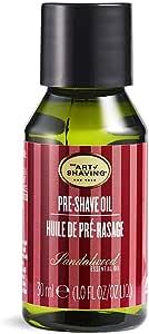 The Art of Shaving 剃须前护理油,适用于男士,檀香,0.41磅,30毫升