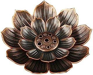 N/D 家居用品 - 黄铜莲花香熏棒香 这款香炉是东方莲花,具有吉祥意义