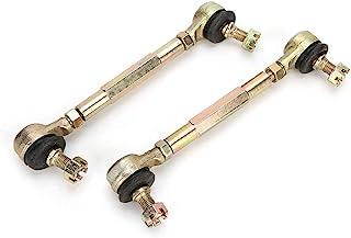 Ladies eshow 一对 10mm/0.39 英寸螺栓拉杆端球连接器,适用于 150cc 250cc 四轮越野自行车 ATV 童车 TA 赛车轨道杆,带球接头