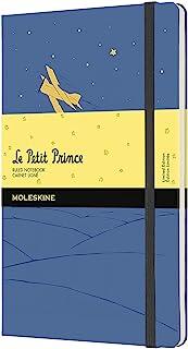 Moleskine 限量版 Petit Prince 笔记本,大号,横格,忘记蓝色,硬封面(12.7 X 21.9 厘米)