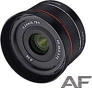 Samyang AF 24毫米 F2.8 FE(小型广角镜)-全画幅 24毫米广角定焦自动对焦镜头 适用于Sony 索尼 E、FE、E卡口、Sony 索尼 A9、A7、A6500、A6300、A6000、A5100、A5