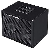 Phil Jones CAB 27 2x7 低音駕駛室 150 瓦 8 歐姆 帶 3 英寸高音揚聲器