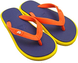 fipper(菲帕) 海洋鞋 儿童沙滩凉鞋 儿童款 紫色/黄色/橙色 22cm(UK03) 天然橡胶制 FJ02-K06 紫色/黄色/橙色 22cm(UK03)