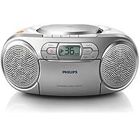 Philips 飛利浦 AZ127 便攜式 CD 播放器 帶收音機 盒子 動態低音增強 音頻輸入(3.5毫米)