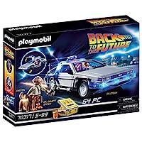 Playmobil 摩比世界 70317 回到未來?DeLorean玩具