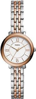 Fossil 女士 Jacqueline 迷你不锈钢正装石英手表