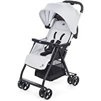 意大利 Chicco 智高 便携式婴儿推车 OHlalà欧拉拉 轻便折叠 灰色(适合0-3岁 车重仅3.8kg 5点式安…