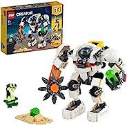LEGO 乐高 31115 Creator 3合1太空挖矿机、太空机器人玩具、货运载器、带外星人人偶积木套装