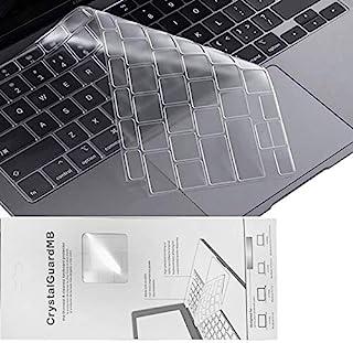 VamkoTec 笔记本电脑键盘保护套,适用于 MacBook 新款 air 13 英寸 A1932,笔记本电脑键盘保护膜,透明色