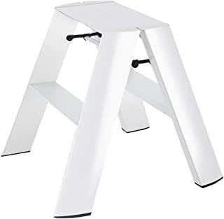 Hasegawa 长谷川梯子 Lucano 踏凳 宽2 白色