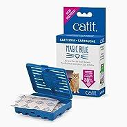 Catit Magic Blue Air Purifier 适用于猫砂盒 1-包每包 1 条