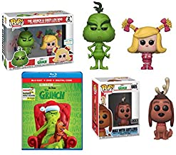 Everyone's Favorite Holiday Classic Tale Retold + 配套人偶:Illumination Presents: Dr. Seuss' The Grinch Blu-ray + DVD + 数字 + F...
