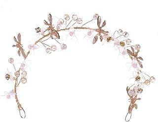 Spmor 女式手工花朵發箍新娘花環皇冠兒童*花環婚禮頭飾