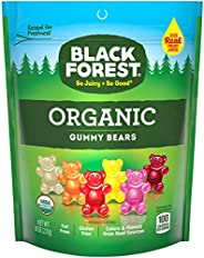 Black Forest Organic 小熊橡膠糖, 8盎司(226.4克)袋裝(6件裝)