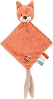 Nattou 儿童奶嘴巾 橙色 25 x 20 cm