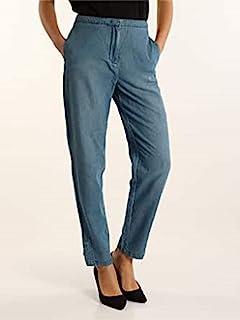 Armani Exchange 女士男友修身长裤