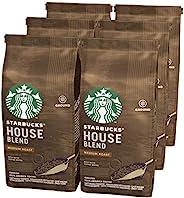 Starbucks 星巴克 House Blend 研磨過濾咖啡粉,中度烘焙(6 x 200g)