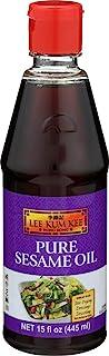Lee Kum Kee 纯 Seasme 油,15 盎司(6 件装)