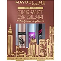 Maybelline The Gift Of Glam 迷你睫毛膏和眼線筆化妝禮品套裝