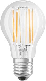 Osram 欧司朗 LED 灯/底座:E27 / 冷白/ 4000 K / 8.50 W / 替换75 W 白炽灯泡/ LED 改装经典 A DIM [节能等级 A++] / 6 件装