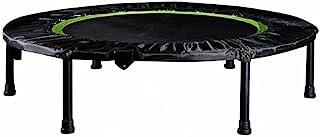 可折叠运动蹦床 直径 101.6 厘米,导轨负载能力达 350 磅,适合儿童和成人,改善协调性和灵活性形状