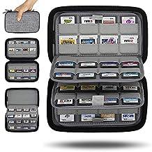 Sisma 64 游戏盒支架存储盒适用于任天堂 3DS 2DS 游戏卡 - 灰色