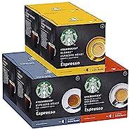 Starbucks 星巴克 Nescafe Dolce Gusto 多件装黑咖啡胶囊,12粒胶囊(6包-共72粒胶囊,72份)