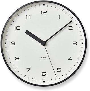 Lemnos 挂钟 AIRA A系列 铝 白色 LC18-03 WH Lemnos φ200×d40毫米