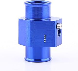 Beennex 通用金属汽车水温接头软管温度传感器适配器蓝色 32 毫米