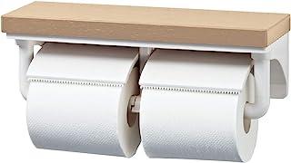 【全色】厕纸架 带有时尚的木架的2连纸卷器【CF-AA64KU】INAX/INAX/LIXIL/骊住 室内遥控对应纸卷器/【CF-A63KU的新产品编号】 クリエペール CF-AA64KU/LP