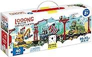香蕉熊猫 - 宽松拼图构造站点 - 大全景拼图,适合3岁以上儿童