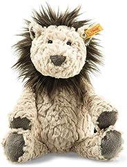 Steiff 狮子 - 30厘米 - 毛绒狮子 - 儿童毛绒玩具 - 柔软可爱的朋友 - 柔软和可洗涤 - 米色 / 棕色(065682)
